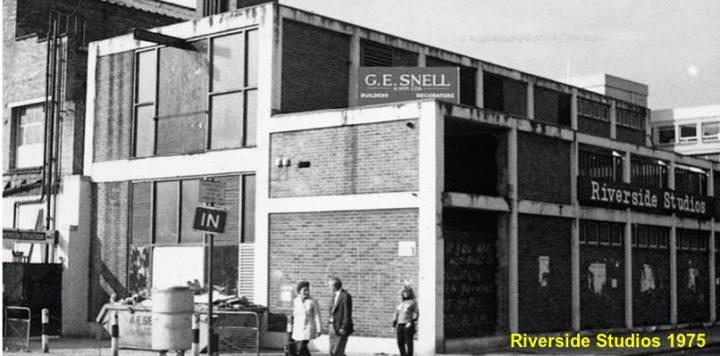 Riverside Studios 1975